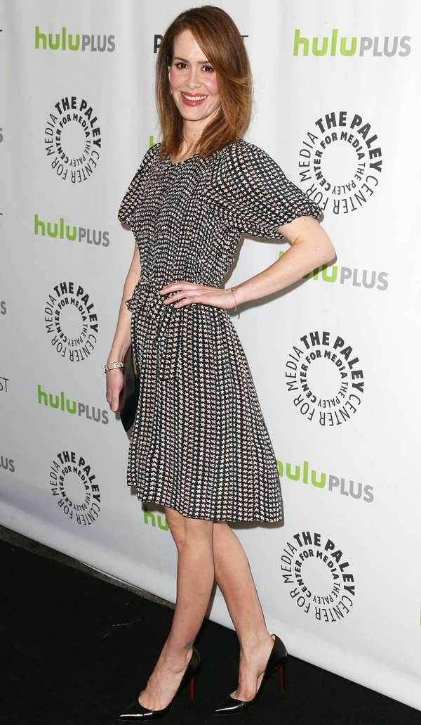 Sarah Paulson attends The Paley Center For Media's