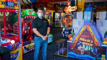 Ryan D'Amico, owner of Laser Bounce Family Fun
