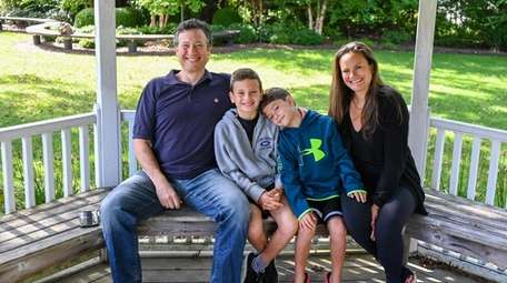 Matthew and Jaime Hochhauser with their sons Nicolas,