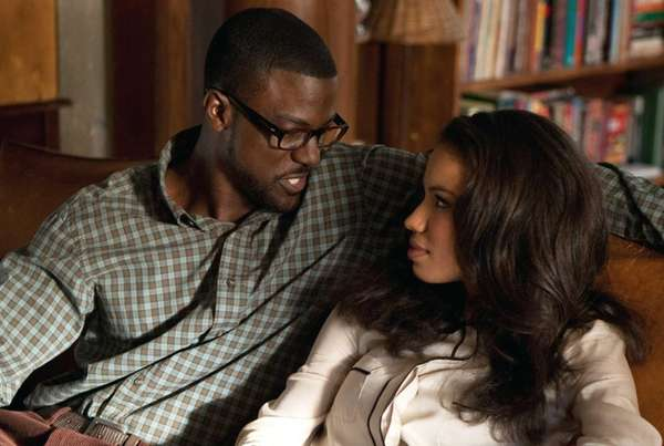 Brice (Lance Gross) and Judith (Jurnee Smollett-Bell) in