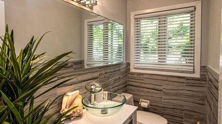Freeport resident Dawn Edwards had her bathroom remodeled