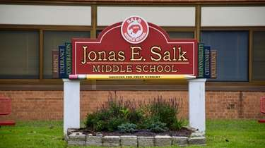 Jonas E. Salk Middle School in Levittown is