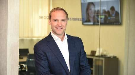 Rob Basso, CEO of Plainview-based Associated HCM, a