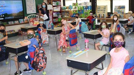 In Port Jefferson, Edna Louise Spear Elementary School