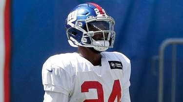 James Bradberry of the  Giants during a