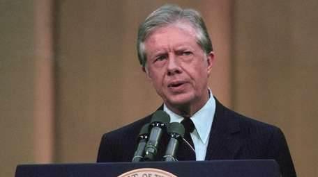 Pres. Jimmy Carter, seen in 1979,