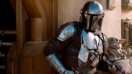 Pedro Pascal is The Mandalorian and the child