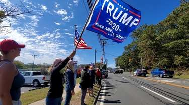 A parade was held in Riverhead on Sunday