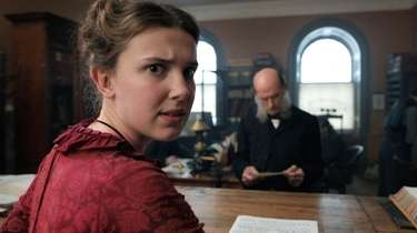 Millie Bobby Brown as Enola Holmes in Netflix's