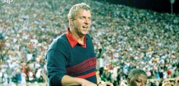 Two-time Super Bowl winning coach Bill Parcells heads