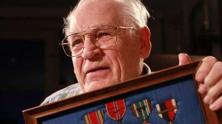 World War II veteran Fred Kempski, 88, of