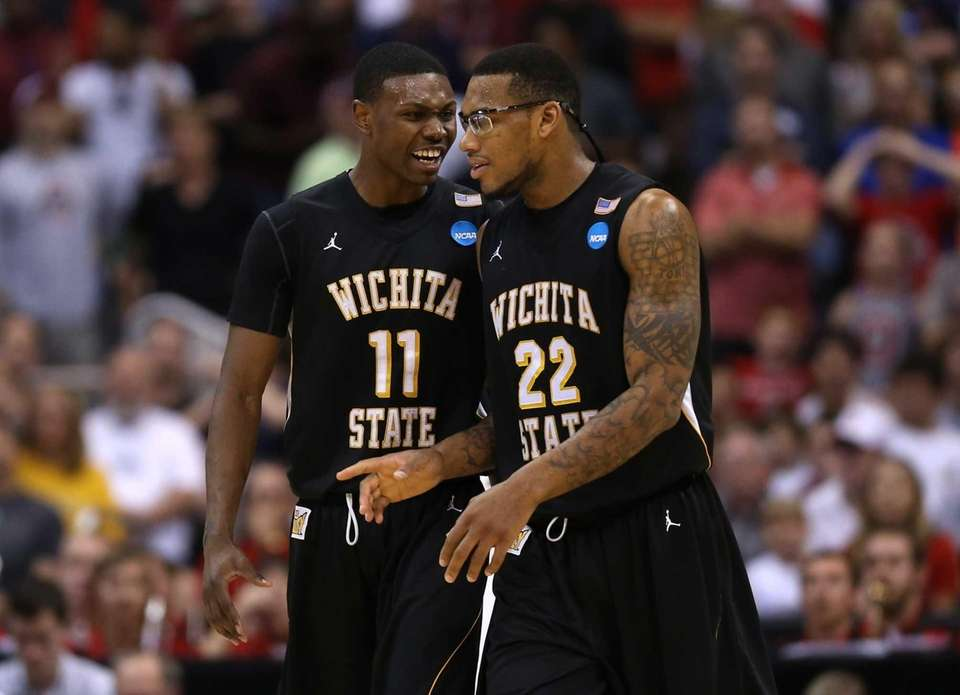 Cleanthony Early and Carl Hall of the Wichita