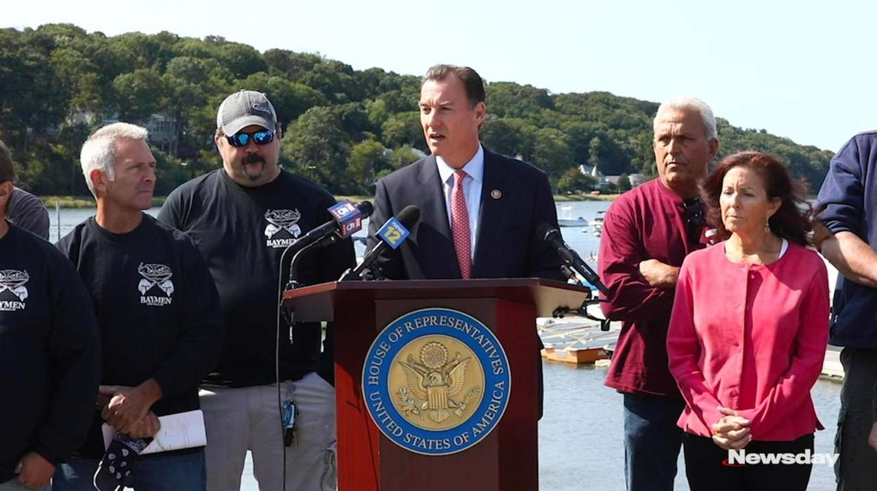 On Monday, Rep. Tom Suozzi called on the