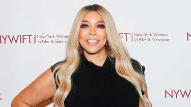 Talk show host Wendy Williams, seen on Dec.