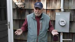 Harry Resnick, of Stony Brook, says his PSEG