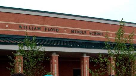 William Floyd Middle School was among schools reporting