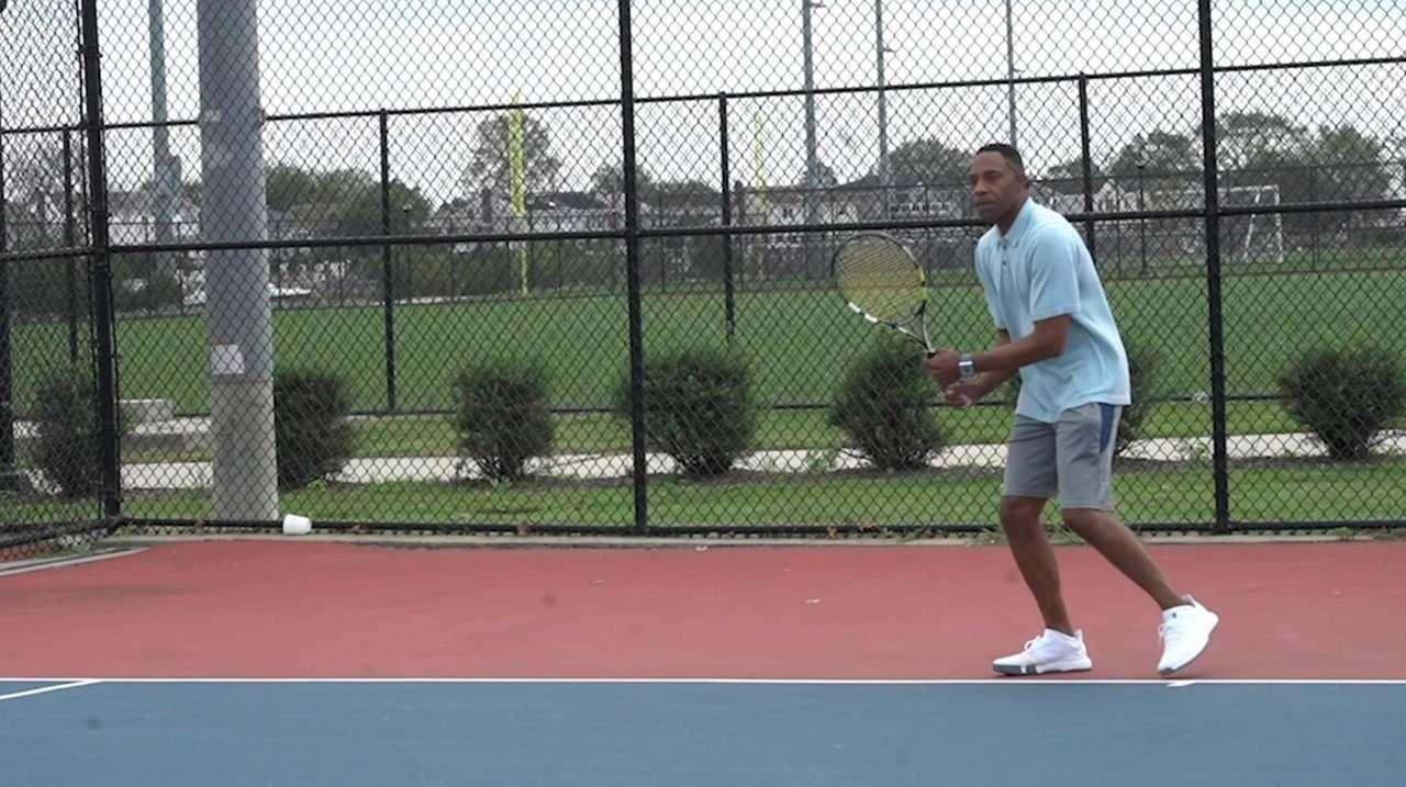 Anthony Marsh, of Lynbrook, played tennis growing up