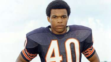 Chicago Bears football player Gale Sayers in 1970.