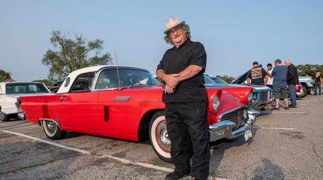Charlie Psarreas, 75, won his '57 Ford Thunderbird
