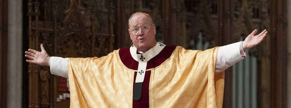 Cardinal Timothy Dolan celebrates Easter Mass at St.