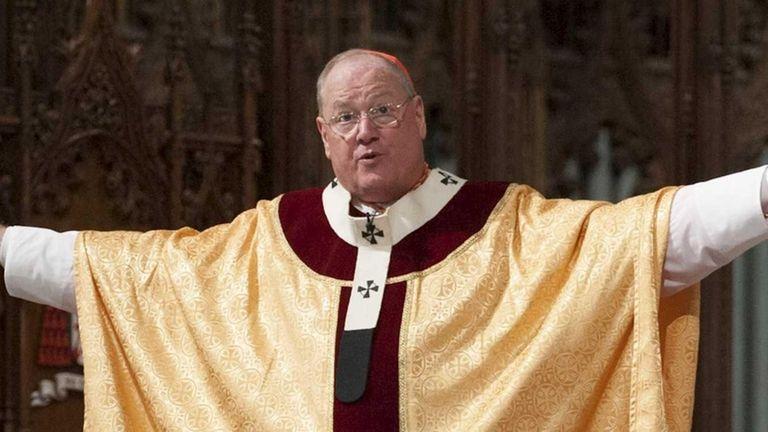 Cardinal Timothy Dolan celebrates Easter Mass at St.