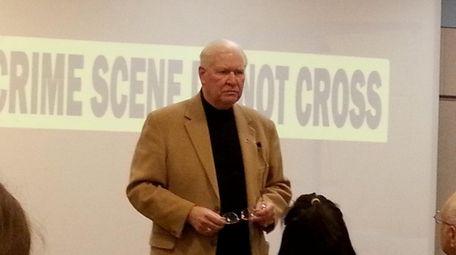 Former Nassau Homicide Squad commanding officer John Nolan