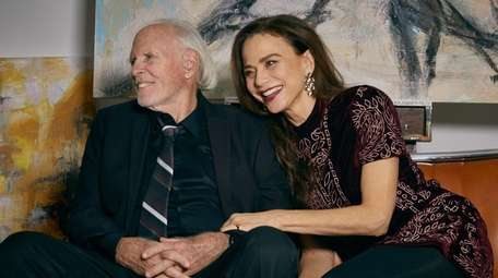 """Bruce Dern and Lena Olin in """"The Artist's"""