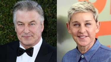 Alec Baldwin offered words of encouragement to Ellen