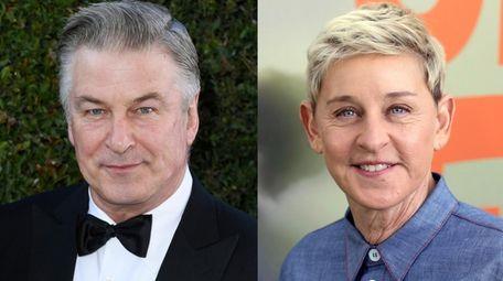 Alec Baldwin offered words of encouragement to Ellen