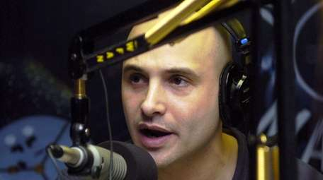 Craig Carton hosting the WFAN morning show on