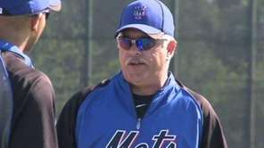 Former Mets' second baseman Wally Backman has led