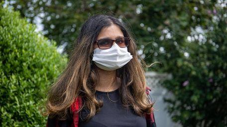 Tara Sheth, 15, a student at Syosset High