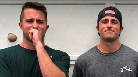 Neal and James Crist, twin brothers from Rockville