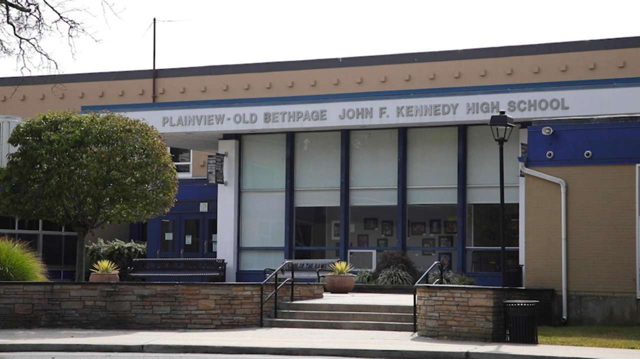 John F. Kennedy High School in the Plainview-Old