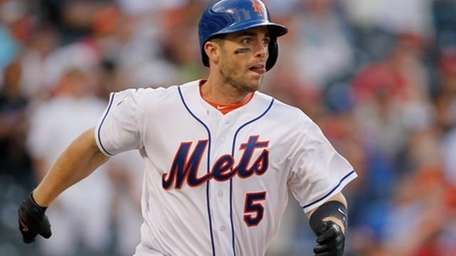 David Wright #5 of the New York