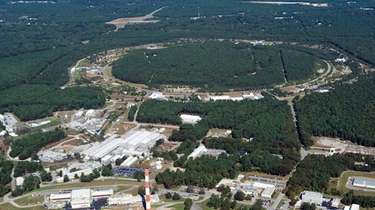 Brookhaven National Laboratory spans about 5,300 acres in