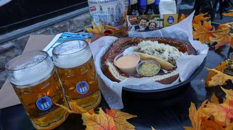 The Oktoberfest package at T.J. Finley's in Bay