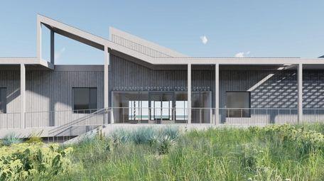 Renderings of the proposed Jones Beach Energy &