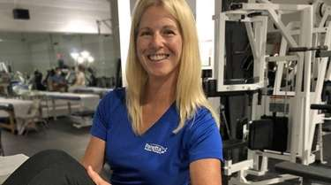 Christina Panetta, owner of Panetta Physical Therapy, helps