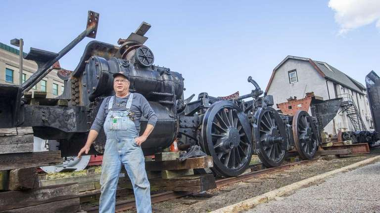 Don Fisher, president of the Railroad Museum of