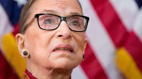 The late Justice Ruth Bader Ginsburg was a