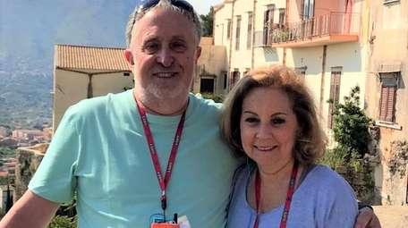 Stephen and Penny Reich, who love to travel,