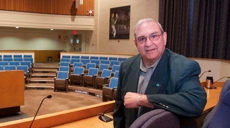 Former Huntington Town Supervisor Frank Petrone has been