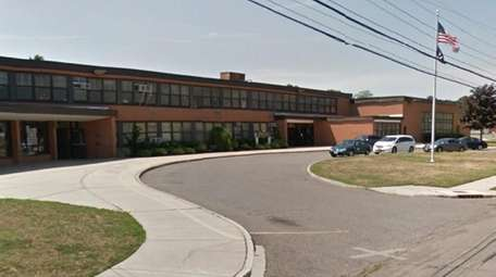 The Albany Avenue Elementary School in North Massapequa