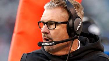 Jets defensive coordinator Gregg Williams against the Dolphins