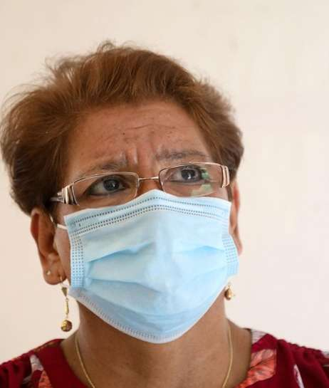 Luisa Araya, 63, shown here in Freeport on
