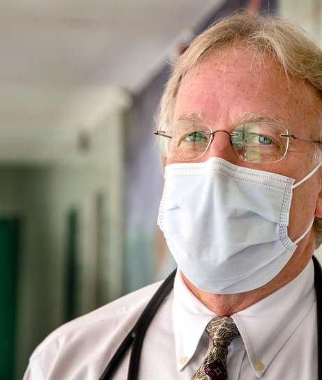 Dr. William Gehrhardt, medical director of the Dolan