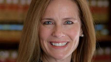 Supreme Court nominee Amy Coney Barrett is a