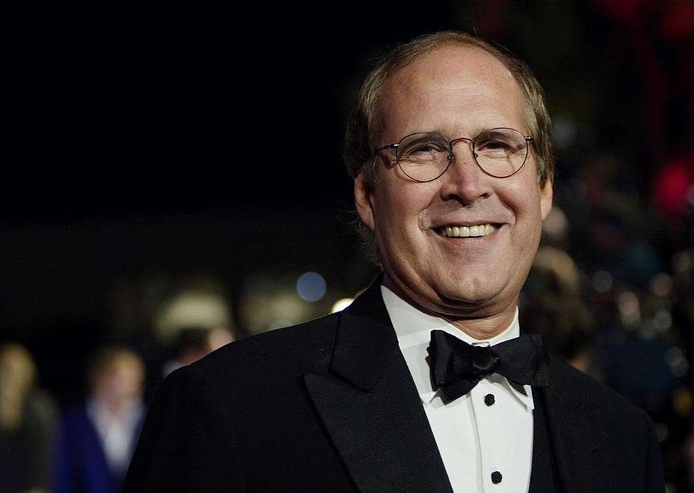 Stage name: Chevy Chase Birth name: Cornelius Crane