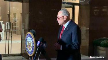 Senate Minority Leader Chuck Schumer (D-N.Y.) opposes President